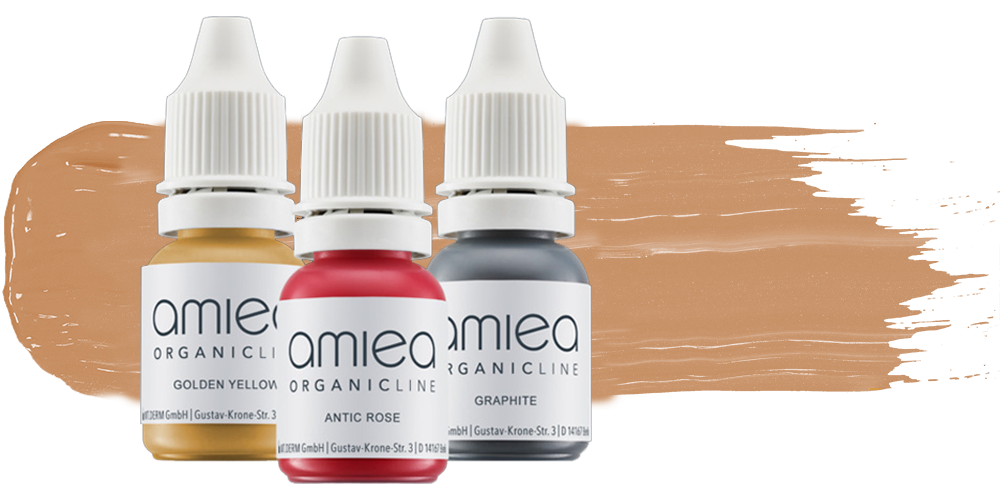 picture of amiea organicline colors